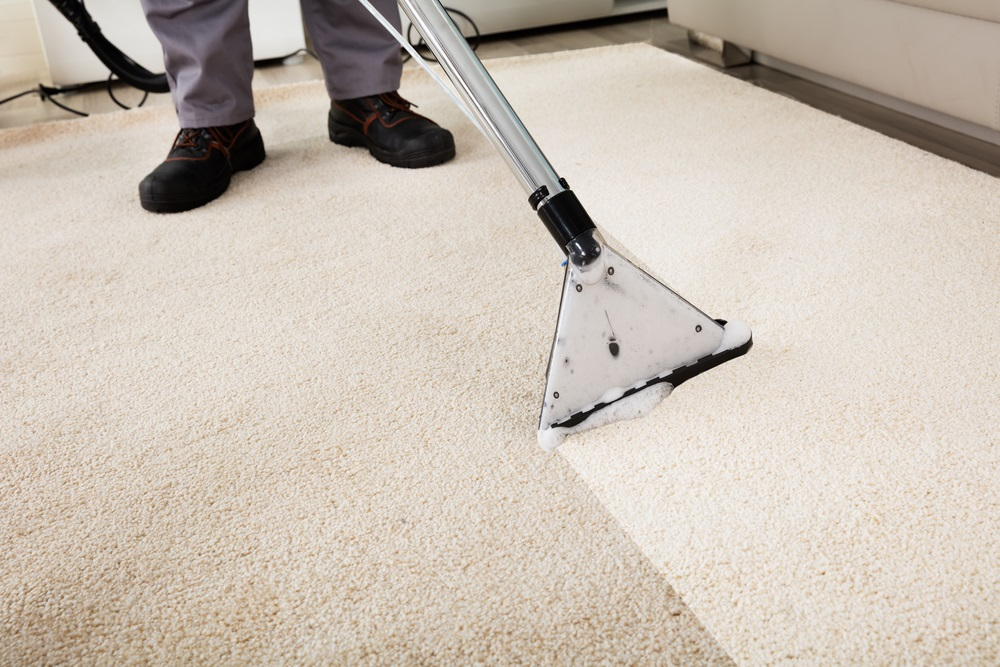 What is steam carpet cleaning?