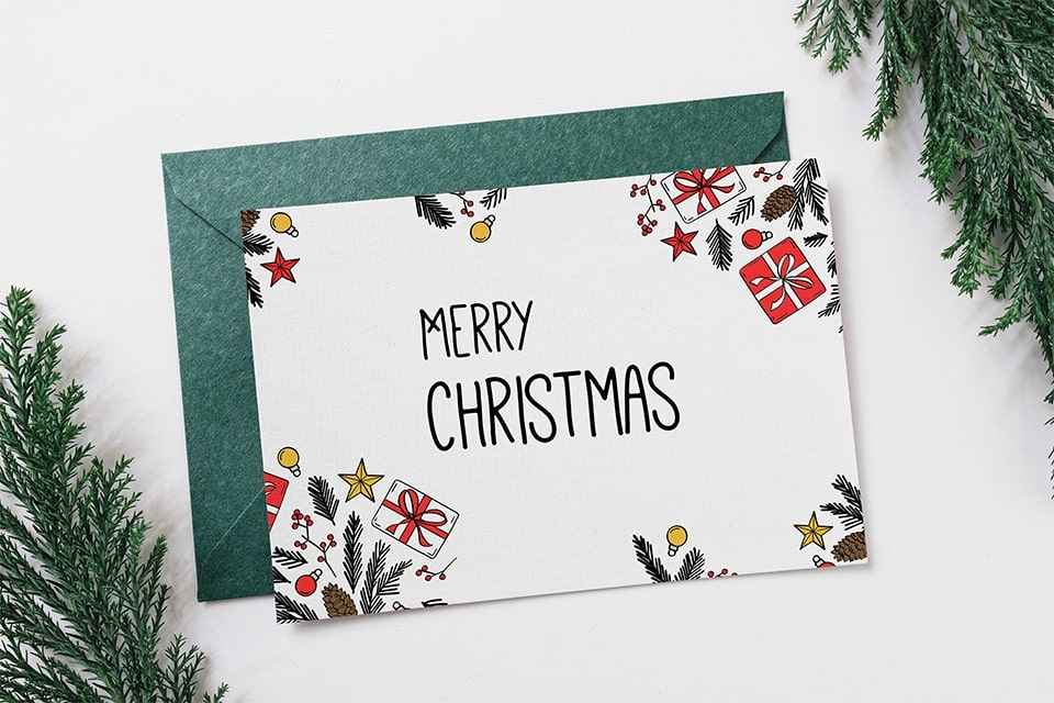 Ways to Perfectly Customize Architecture Christmas Cards