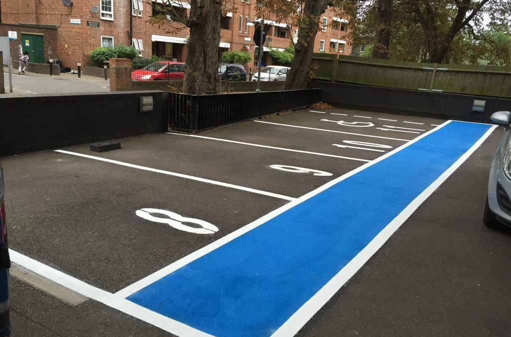 The Advantages of Good Car Park Markings