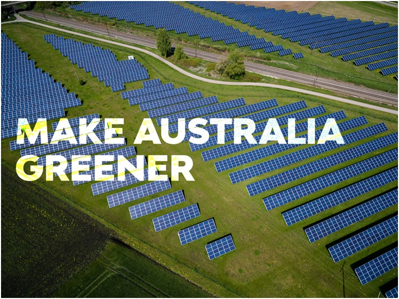 Be a part of the 50% renewable power in Australia
