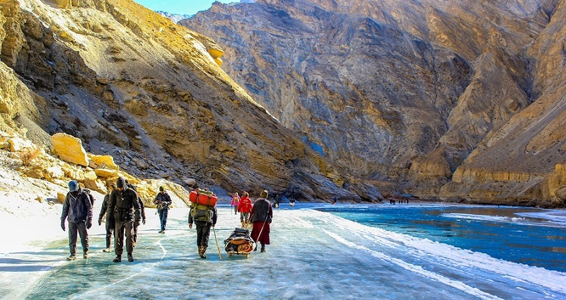 Chadar Trek A vacation for your Thrilling Spirit