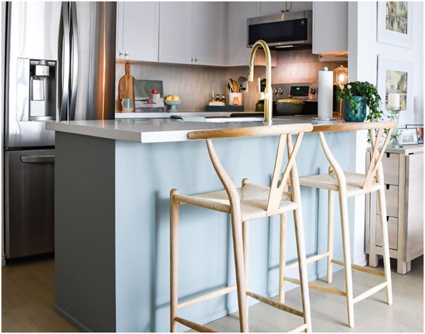 6 Kitchen Bar Inspirations To Complement Your Wishbone Counter Stool