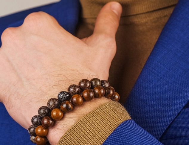 Why is Tiger Eye the Most Popular Choice for Men's Luxury Bracelets