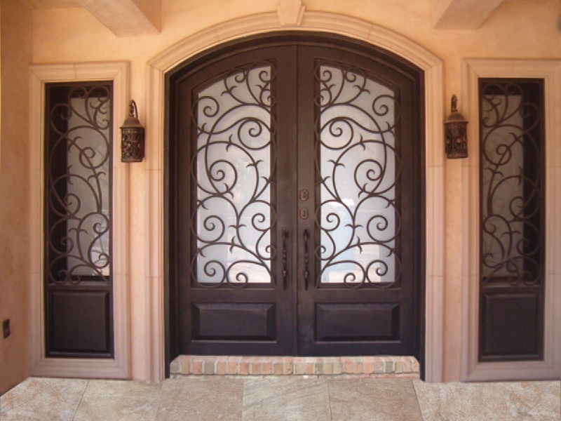 Why Investing In a Wrought Iron Door Is A Good Idea