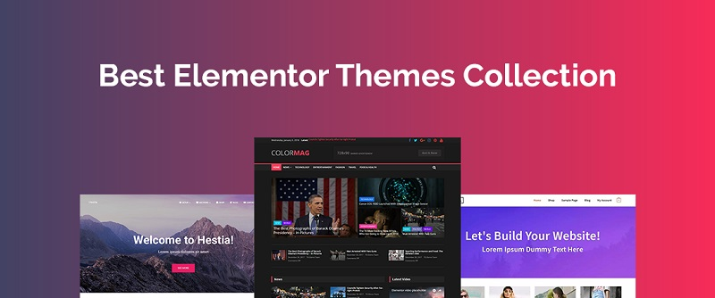 A brief overview of the Elementor templates of WordPress
