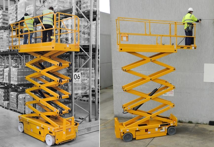 How to Work Safely Using Scissor Lifts