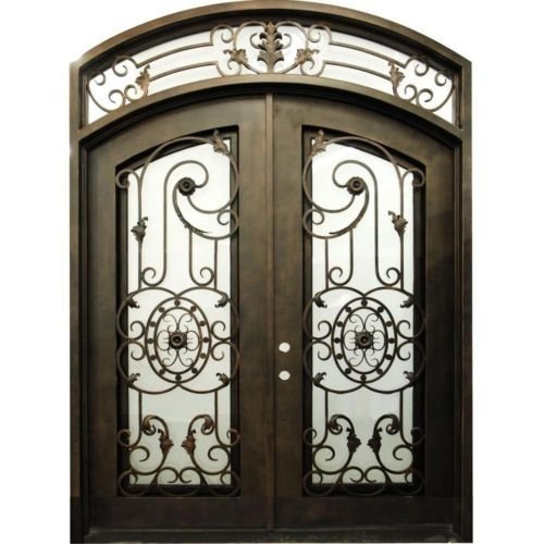 Advantages of Wrought Iron Entry Doors