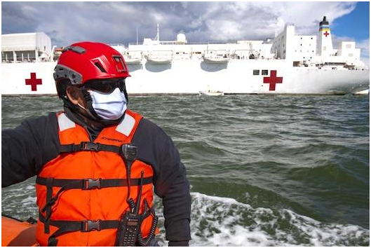 How the US Coast Guard Helped with Logistics during COVID-19