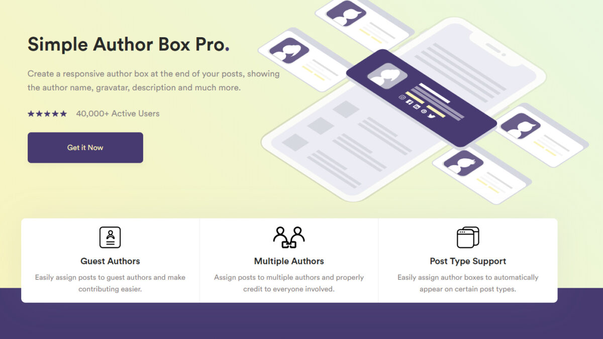 The Best Author Box Plugins for WordPress In 2020