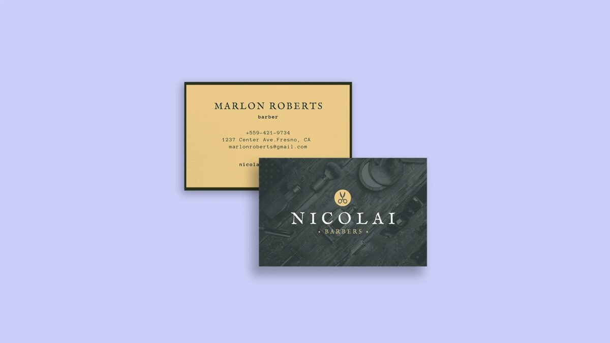 Impacts of picking the right shades of colors for Business Card
