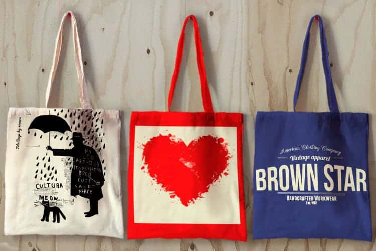 Find The Advantages Of Using Printed Tote Bags To Create Brand Awareness