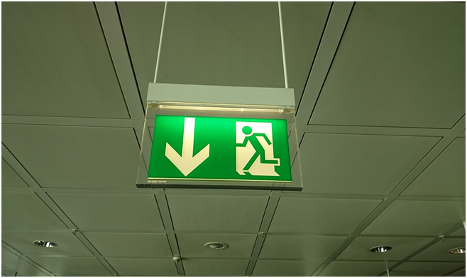 The Importance of Well Lit Exit Signs in Commercial Buildings