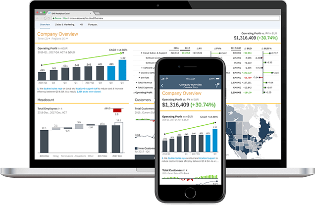 What value can an SAP analytics partner offer a growing business?