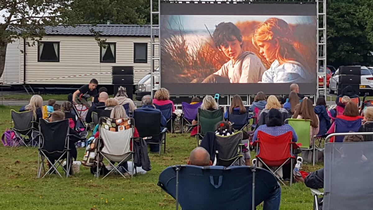 Outdoor LED Screen as Outdoor Cinema