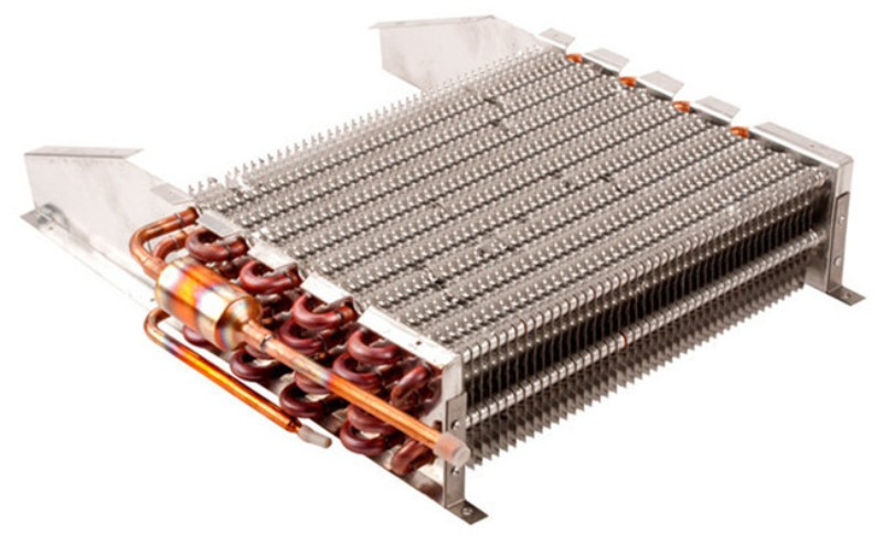 WHAT'S THE DISTINCTION IN BETWEEN AC CONDENSER AS WELL AS EVAPORATOR COILS?