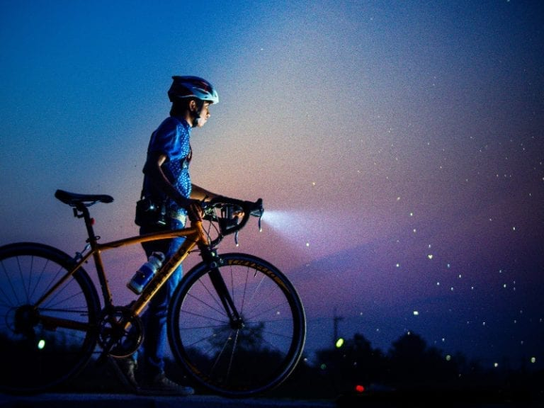 Tips for riding the bike at night