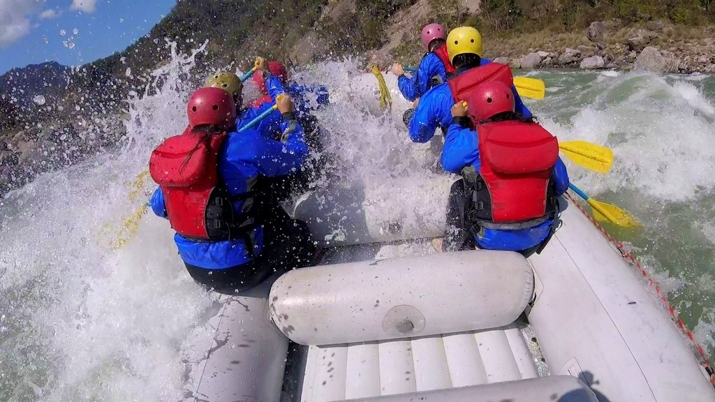 The attraction of River Rafting is on everyone's bucket list in Rishikesh