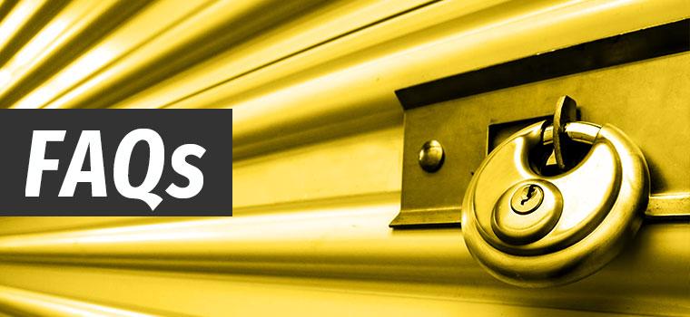 Storage Unit FAQs
