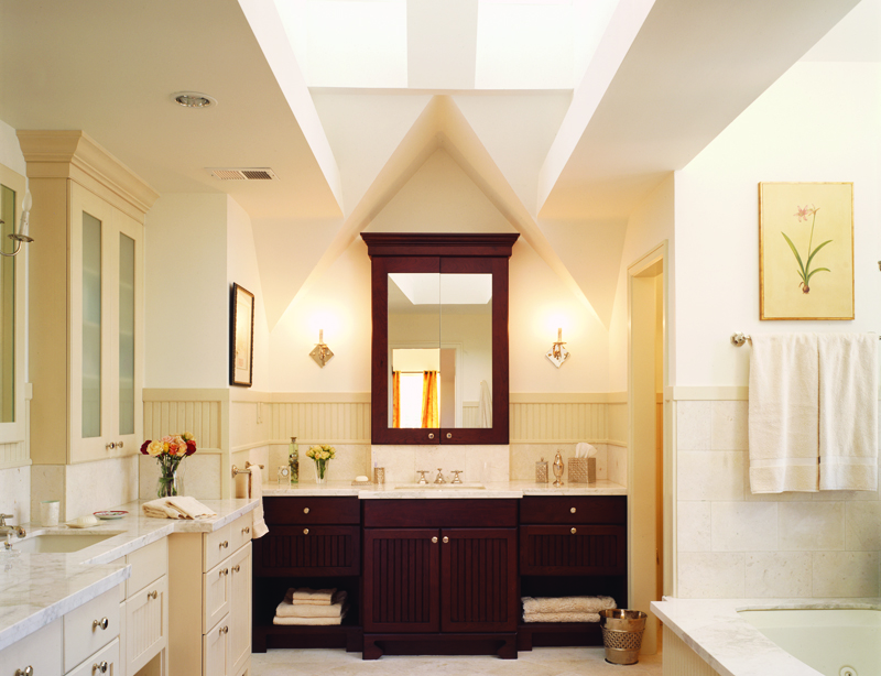 How to make a good-looking and practical bathroom?Try these 10 points, girls will like point 3