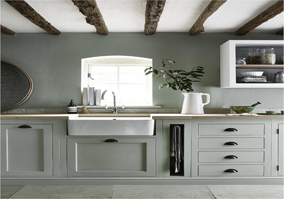Create Warm Ambiance With Country Kitchen Cabinets
