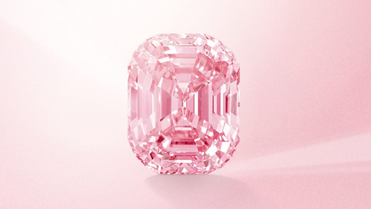 Why should you invest in pink diamonds?