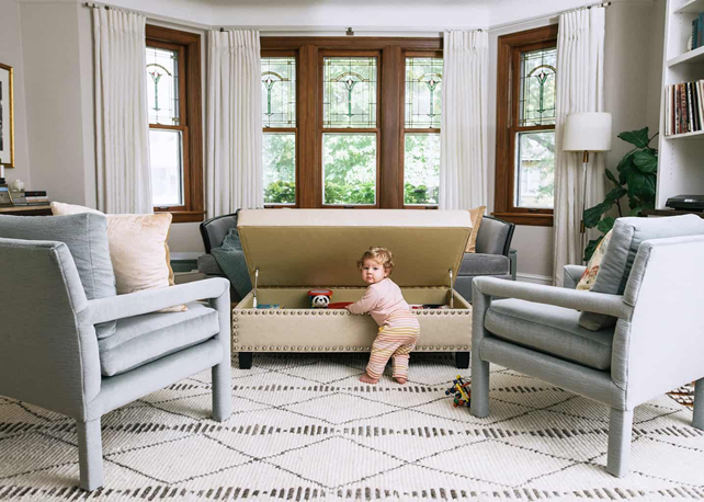 Mark Roemer Oakland Considers How to Baby-Proof Your Home in Style