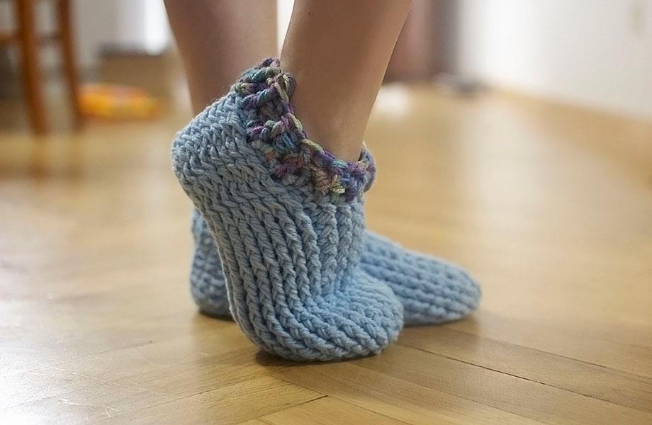 Perfect crochet footwear in your toddler