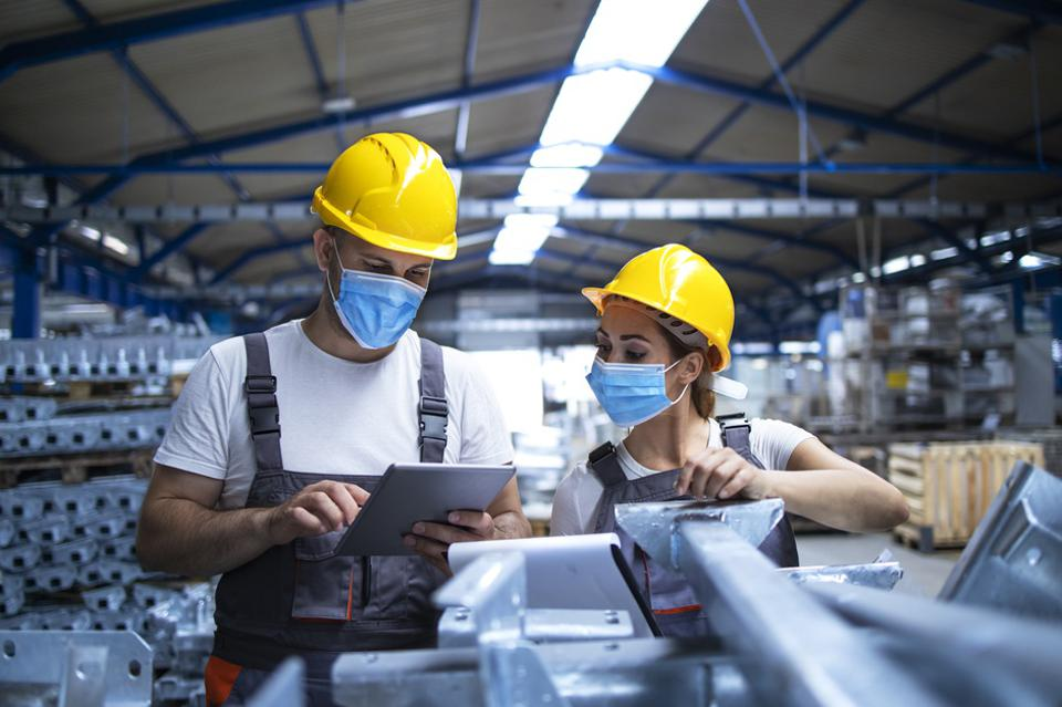 Protecting Your Manufacturing Employees from COVID-19