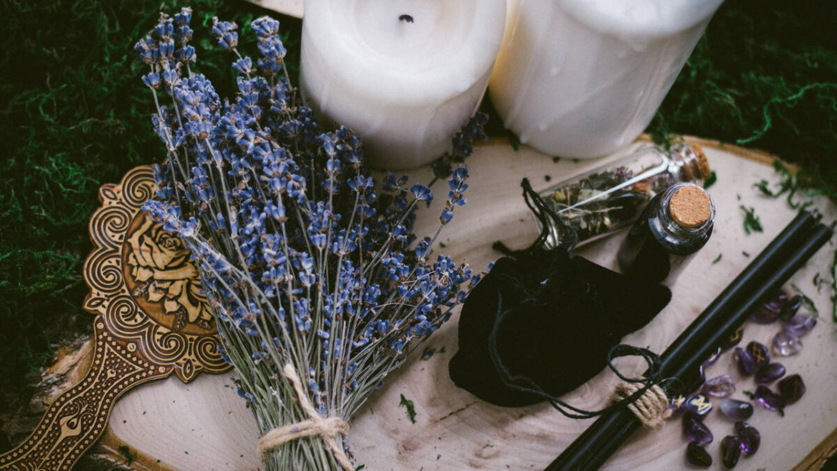 Love spells of white magic
