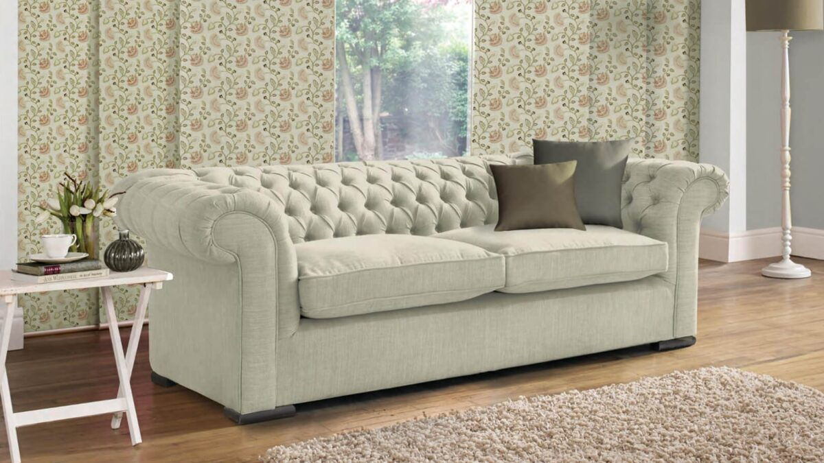 Why is cotton considered the best fabric for upholstery?